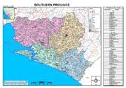 Southern Province Map