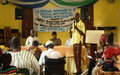 UNIPSIL HRS Conducts Regional Workshop on Political Participation for the Disabled