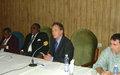 UN PEACE BUILDING FUND SUPPORTS SIERRA LEONE PARLIAMENT
