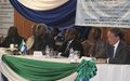 UNIPSIL Human Rights Section, OHCHR, HRC and Government of Sierra Leone holds National Conference